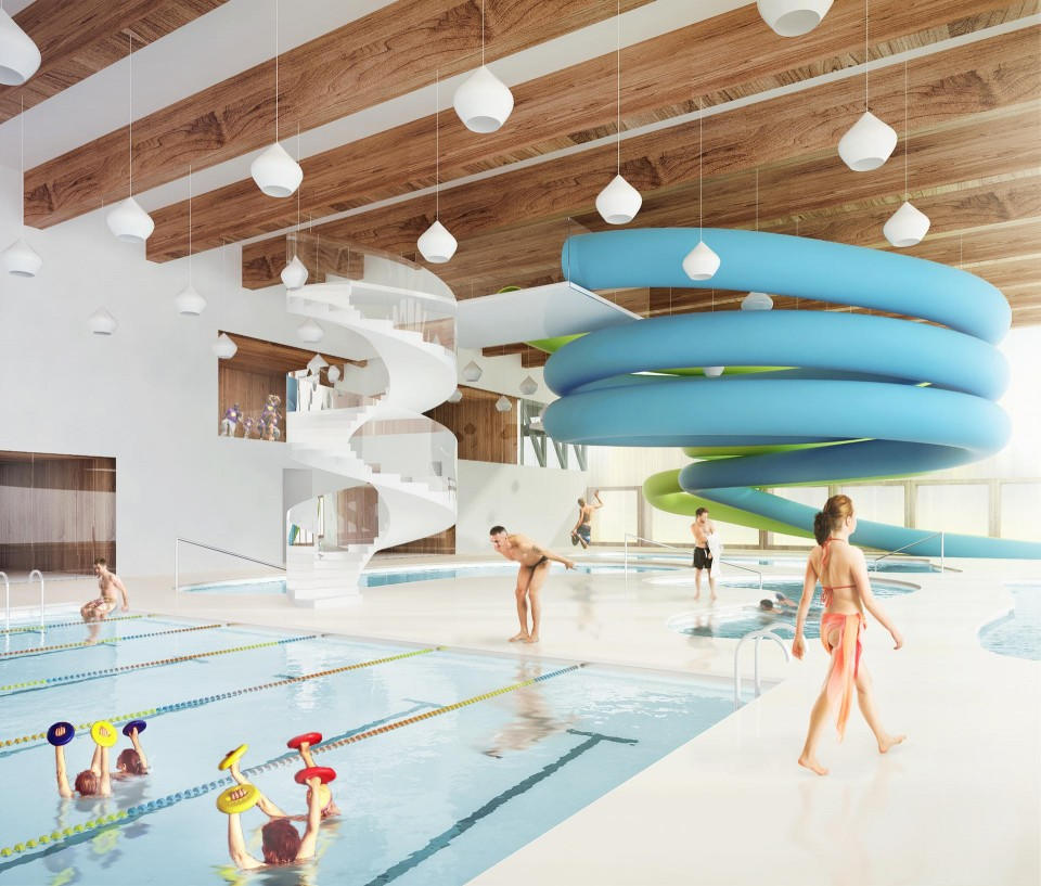 rozbudowa basenu wnętrze