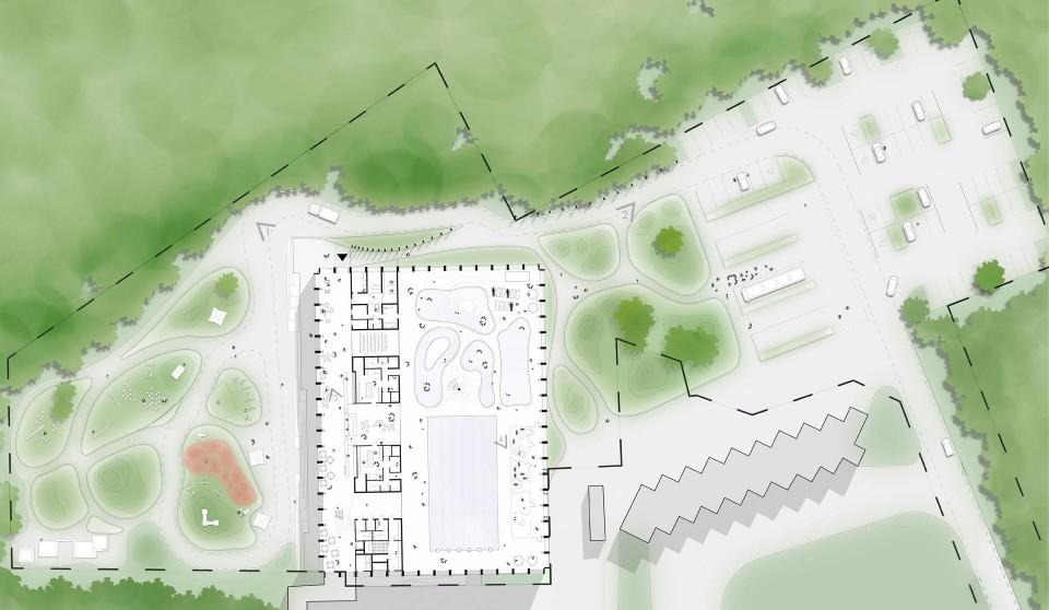 rozbudowa basenu zagospodarowanie terenu