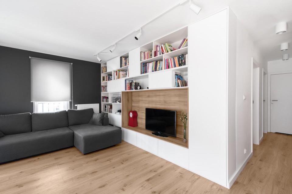 mieszkanie Lublin salon