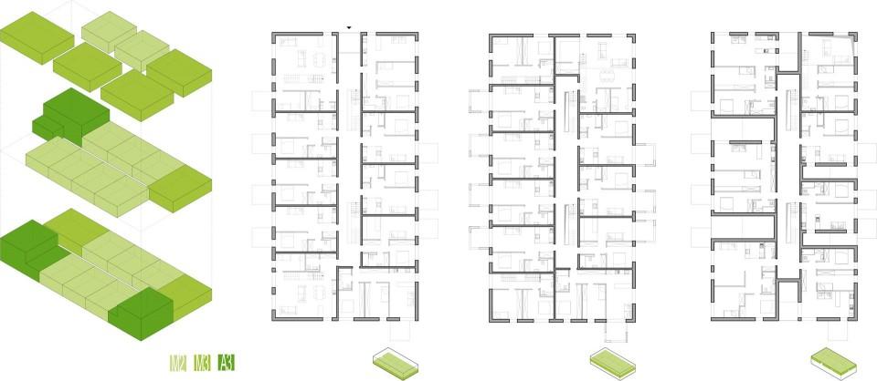 Osiedle mieszkaniowe schemat