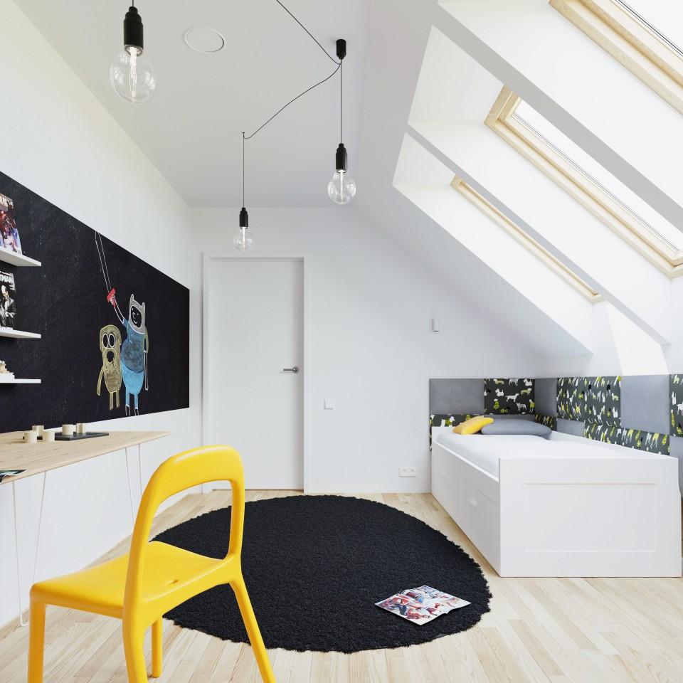 dom z bala pokój dziecka