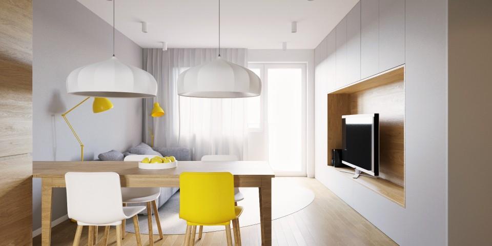 mieszkanie pw salon jadalnia