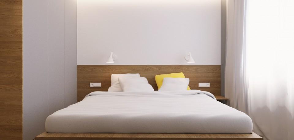 mieszkanie pw sypialnia