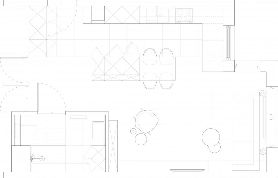 081-architekci-projekt-wnetrz-mieszkanie-lublin_rzut