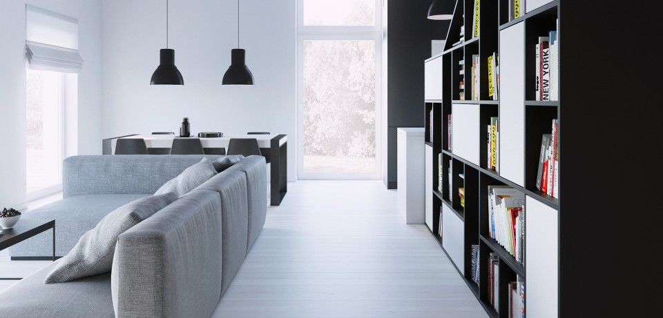 081-architekci-projekt-wnetrz-czarny-dom-lublin-front