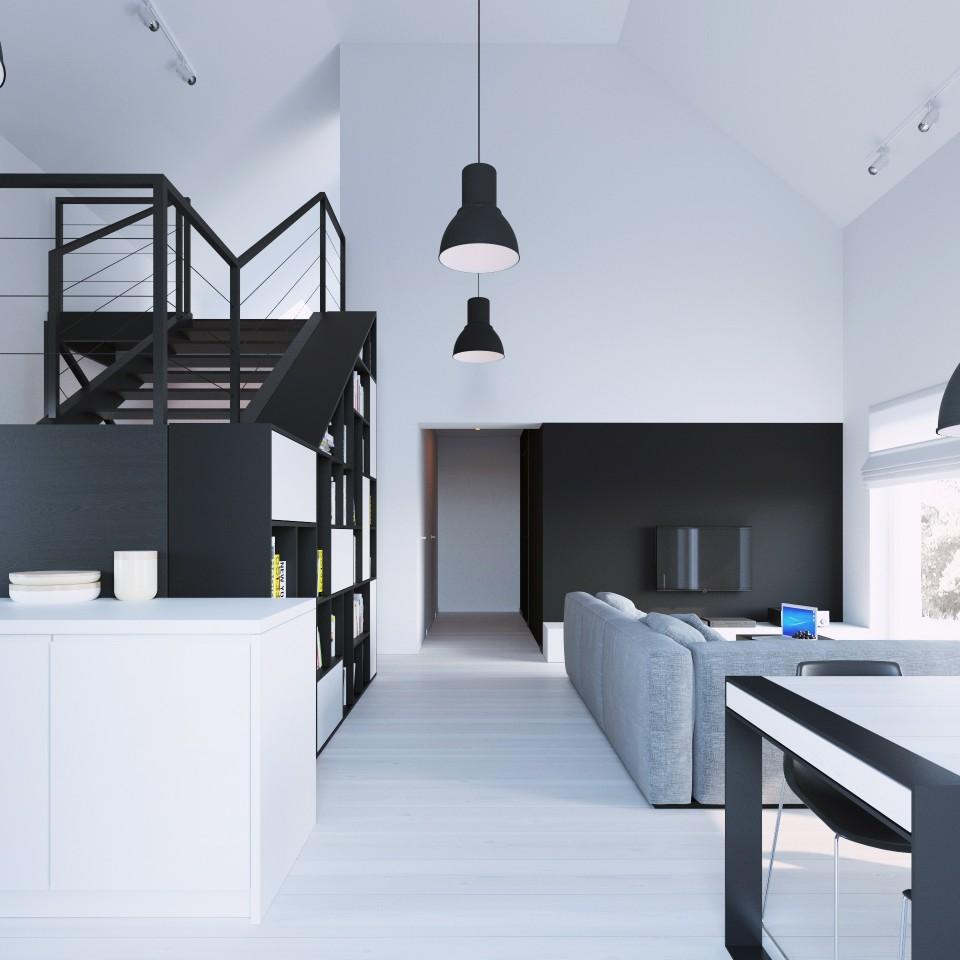 081-architekci-projekt-wnetrz-czarny-dom-lublin-jadalnia_02