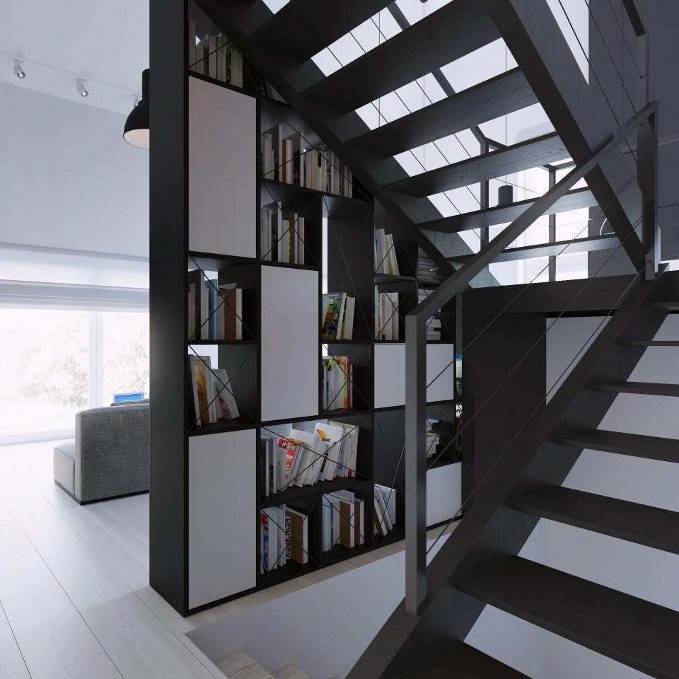 081-architekci-projekt-wnetrz-czarny-dom-lublin-schody_01