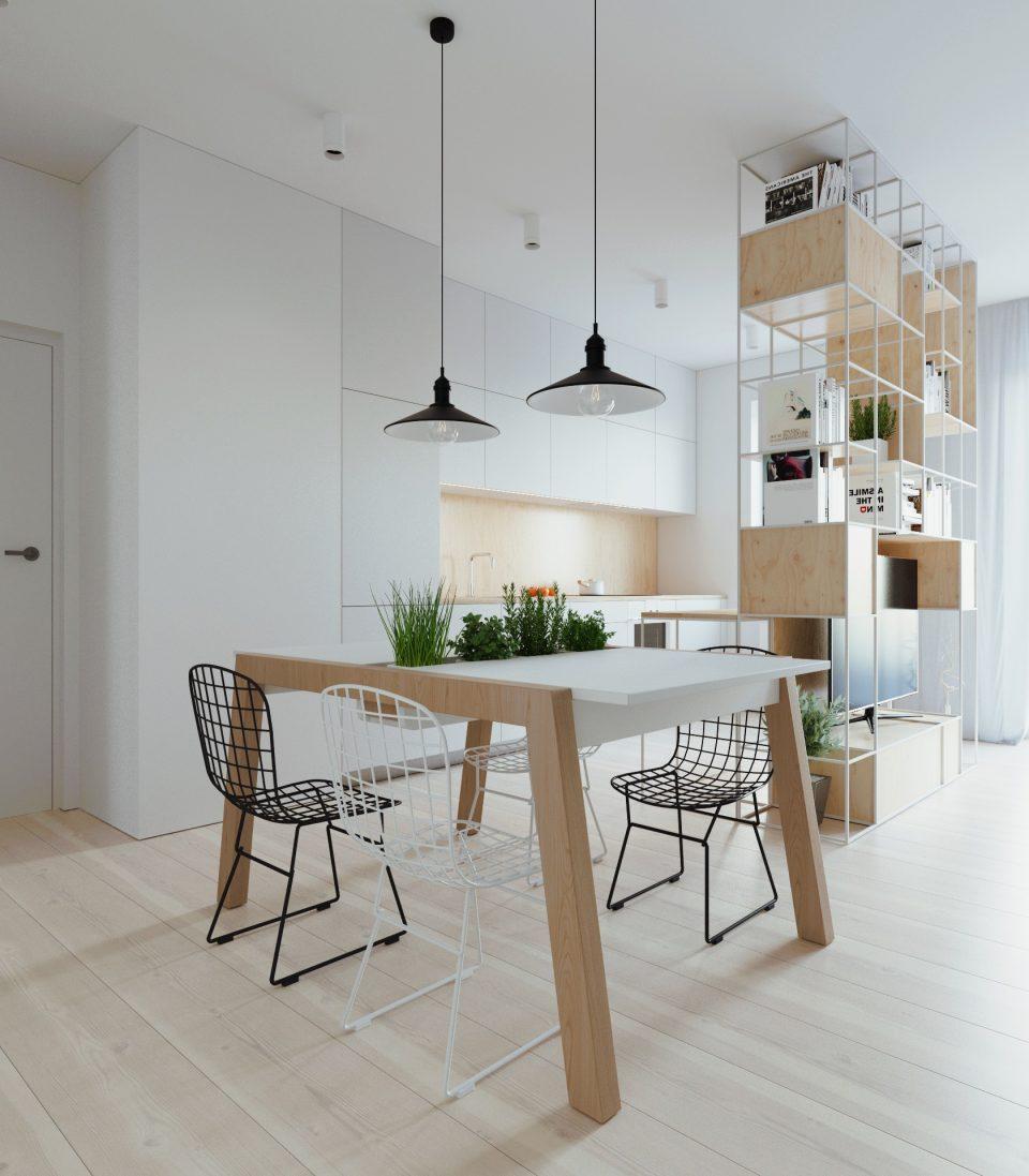 081-architekci-projekt-wnetrz-mieszkanie-ja-warszawa-jadalnia 1
