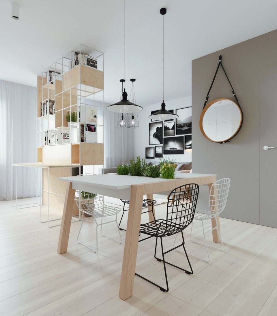 081-architekci-projekt-wnetrz-mieszkanie-ja-warszawa-jadalnia 2