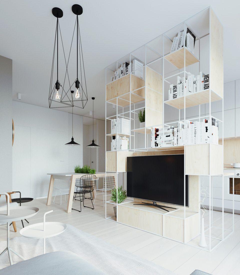 081-architekci-projekt-wnetrz-mieszkanie-ja-warszawa-salon 1