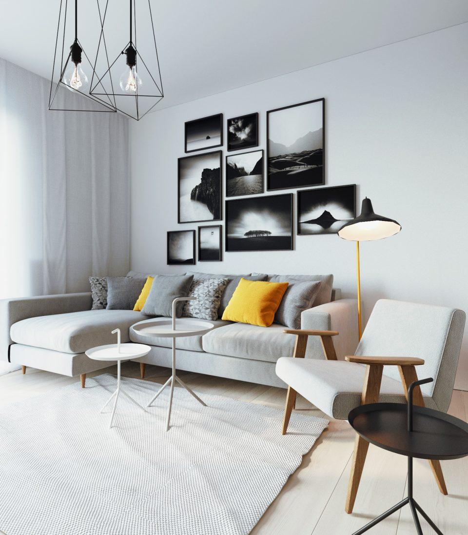 081-architekci-projekt-wnetrz-mieszkanie-ja-warszawa-salon 2