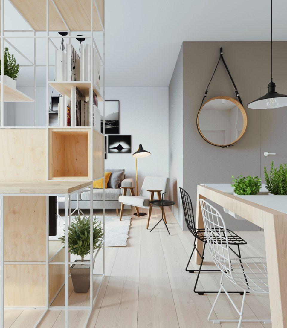 081-architekci-projekt-wnetrz-mieszkanie-ja-warszawa-salon 3